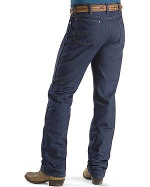 "Wrangler Jeans - Cowboy Cut 36 MWZ Slim Fit Indigo - 38"" Tall Inseam"