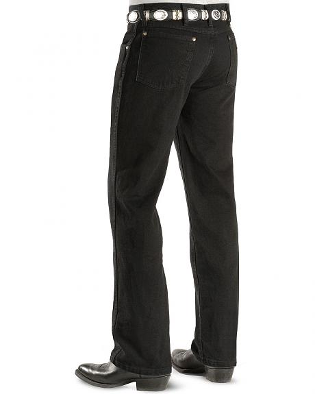 Wrangler Jeans - Cowboy Cut 36 MWZ Slim Fit Black - 38