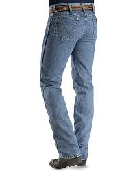 Wrangler Jeans - Cowboy Cut 36MWZ Slim Fit Jeans Stonewash in 38