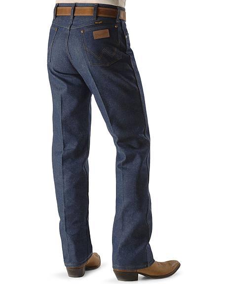 Wrangler Jeans - 13MWZ Original Fit Rigid - Reg, Big, Tall & Big/Tall