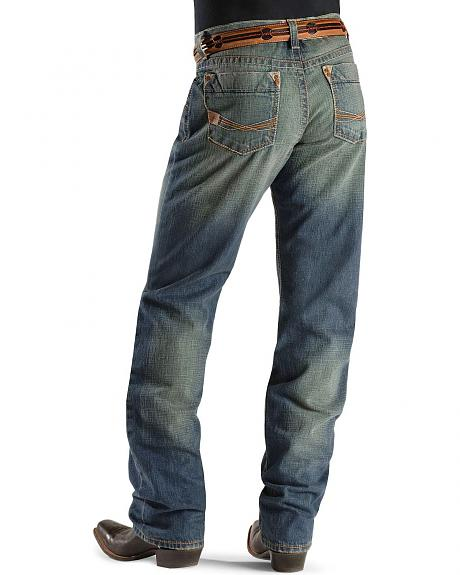 Ariat Denim Jeans - M3 Corner Pocket Wash Athletic Fit in 38