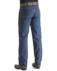 "Wrangler Jeans - 13MWZ Original Fit Premium Wash Stonewash - Big 44""- 50"" Waist"