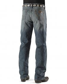 Wrangler 20X 01 Competition River Wash Jeans - Tall