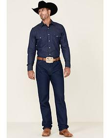 Wrangler Men's 13MWZ Prewashed Regular Fit Jeans - Tall