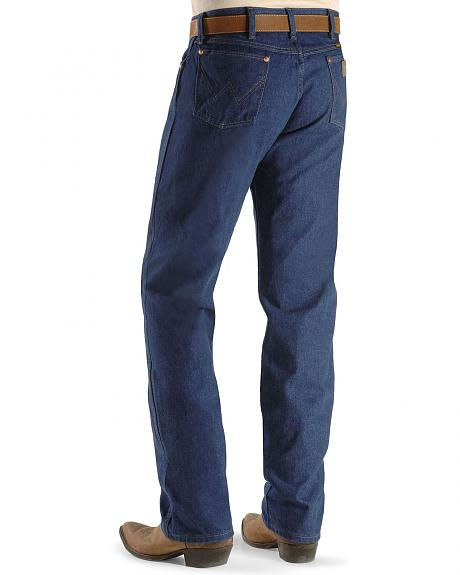 Wrangler Men's 13MWZ Prewashed Regular Fit Jeans - Tall