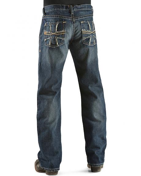 Ariat Denim Jeans - M4 Prospector Smithy Dark Wash Relaxed Fit - Big & Tall