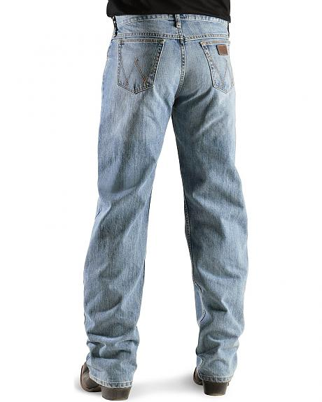 Wrangler Jeans - 20X Competition Laser Blue Denim Relaxed Fit - 38