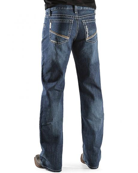 Cinch � Reed Dark Denim Slim Fit Bootcut Jeans - Big & Tall