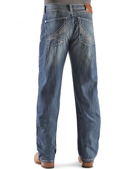 Wrangler 20X 33 Extreme Relaxed Limited Edition Whiplash Straight Leg Jeans-Tall