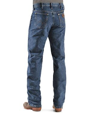 Wrangler Premium Performance Advanced Comfort Mid Stone Jeans - Big & Tall