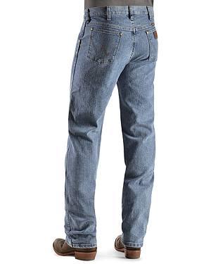 Wrangler Premium Performance Advanced Comfort Stone Beach Jeans - Big & Tall