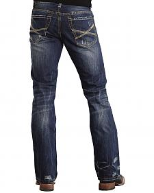 Stetson Rock Fit X Stitched Jeans - Big & Tall