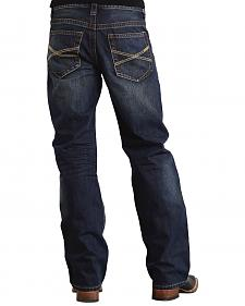 "Stetson Modern Fit Classic ""X"" Stitched Jeans - Big & Tall"