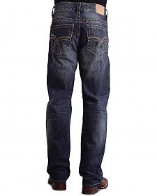 "Stetson Modern Fit Curved ""X"" Stitched Jeans - Big & Tall"