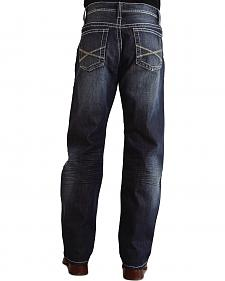 "Stetson 1520 Fit Bold ""X"" Stitched Jeans - Big & Tall"