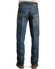 Stetson Standard Medium Stonewash Relaxed Fit Straight Leg Jeans - Big & Tall