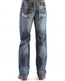 "Rock & Roll Cowboy Pistol ""V"" Straight Leg Jeans - Regular Fit - Big and Tall"
