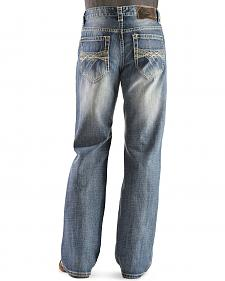 Rock & Roll Cowboy Cannon Bootcut Jeans - Loose Fit - Big and Tall