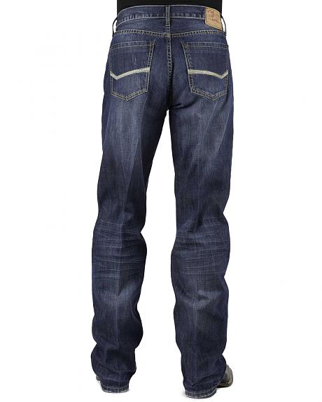 Stetson Modern Fit Bold Stitched Jeans - Tall