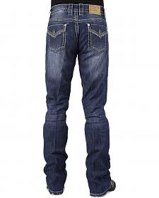 Stetson Rocker Fit Flap Pocket Jeans - Big and Tall