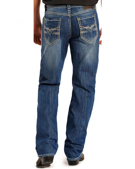 Rock & Roll Cowboy Men's Cannon Relaxed Fit Straight Leg Jeans - Tall
