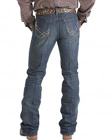 Cinch Ian Slim Fit Dark Stonewash Jeans - Boot Cut - Tall Sizes