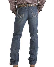 Cinch Ian Slim Fit Dark Stonewash Jeans - Boot Cut - Tall Sizes