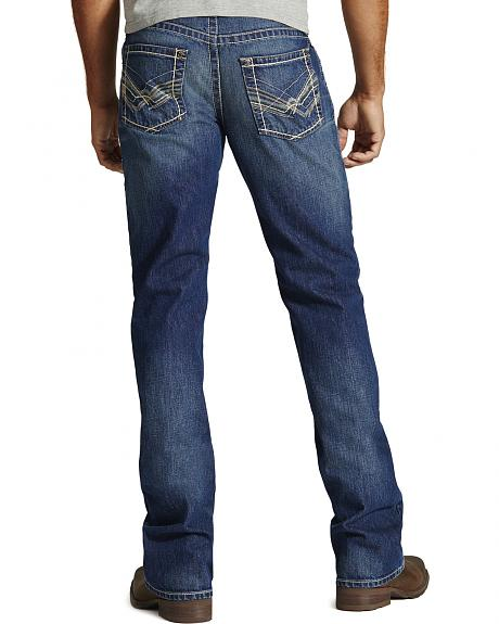 Ariat M6 Rockridge Slim Fit Jeans - Boot Cut - Big and Tall