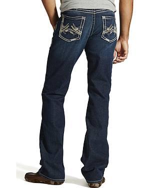 Ariat M6 Maverick Slim Fit Jeans - Boot Cut - Big and Tall