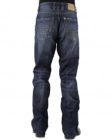Stetson Modern Fit Pieced Back Pocket Jeans - Big and Tall