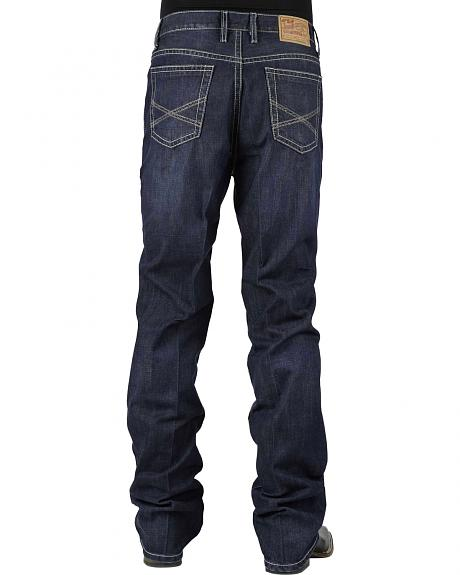 Stetson 1520 Classic Fit With Embroidery Jeans - Boot Cut - Big and Tall