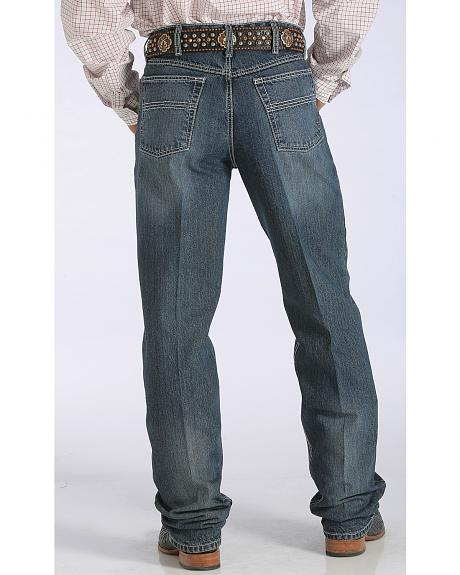 Cinch Men's Black Label Relaxed Fit Tapered Leg Jeans - Big & Tall