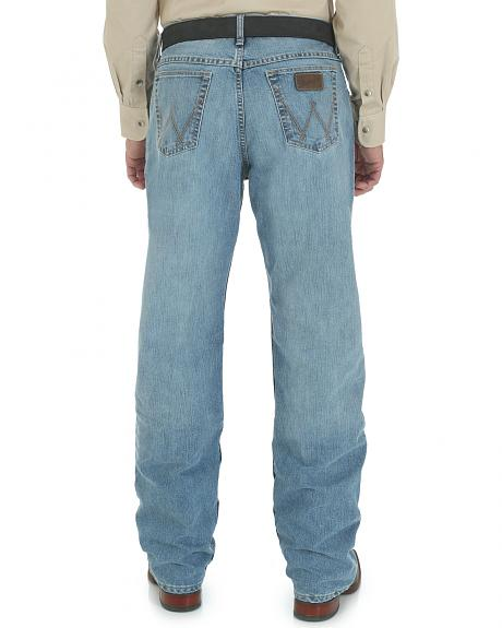 Wrangler Men's 20X Cool Vantage Competition Jeans - Ocean Blue - Tall