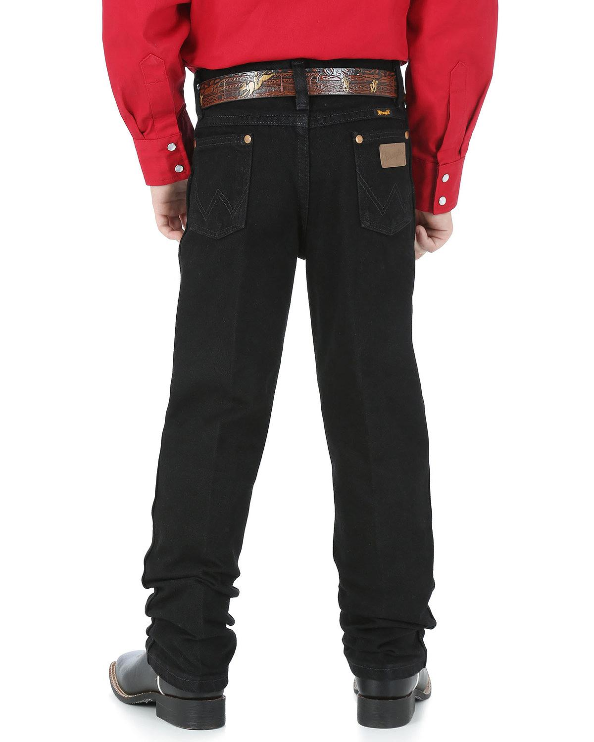 Keep your boy looking good and feeling comfortable with new boys' jeans. Cool, comfortable and easy-to-wash boys' jeans are a staple of every growing boy's wardrobe. Relaxed fit boys' husky jeans are durable enough for active, outdoor play over the summer vacation, but .
