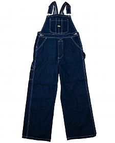 Key Industries Boys' Denim Overalls - 8-16