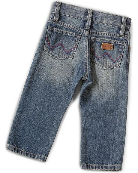 Wrangler Infant Girls Star Patch Jeans - 6 - 18 months