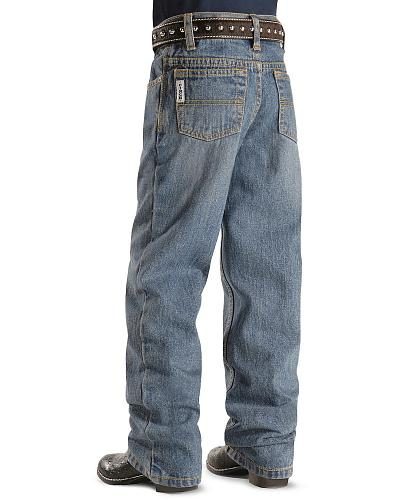 Cinch  Boys White Label Jeans 4-7 Slim Western & Country MB12841001ind