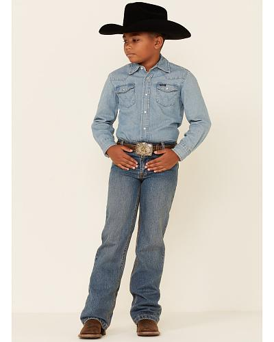 Cinch  Boys White Label Jeans 8-16 Regular Western & Country MB12882001IND