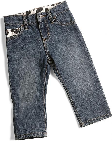 Wrangler Infants Cow Lined Jeans - 6-18M