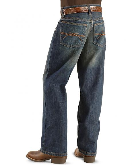 Wrangler 20X Jeans - No. 33 Relaxed Fit Straight Leg - Boys' 8-16 Reg
