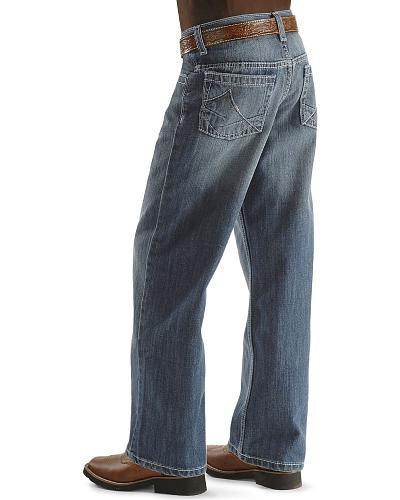 Wrangler 20X Jeans No. 33 Extreme Relaxed Fit Boys 8-16 Regular Western & Country 33BLDLB