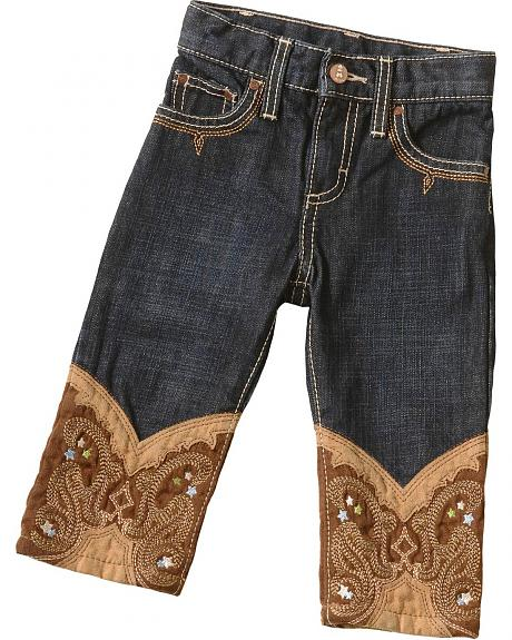Wrangler Infant Boys' Boot Embroidered Jeans - 6M-18M