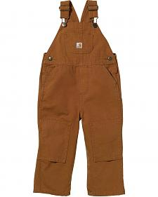 Carhartt Toddlers' Cotton Duck Overalls - 2T-4T