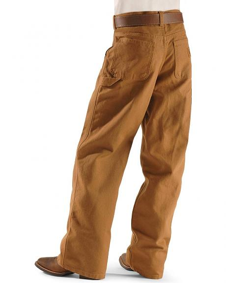 Carhartt Duck Dungaree Khaki Pants - 4-7