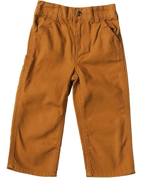 Carhartt Toddlers' Duck Dungaree Pants - 2T-4T