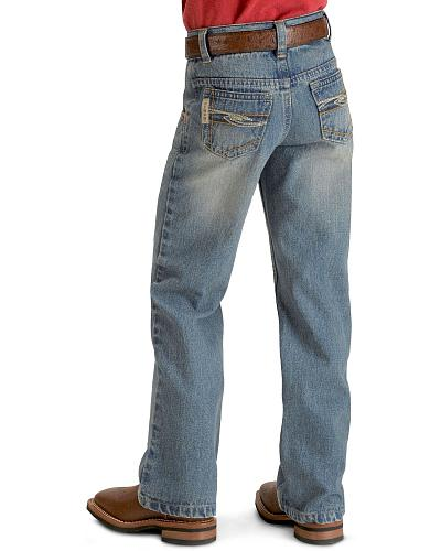 Cinch  Boys Tanner Jeans 8-18 Slim Western & Country MB16981001IND