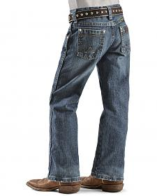 Wrangler Boys' Retro Relaxed Fit Straight Leg Jeans - 4-7