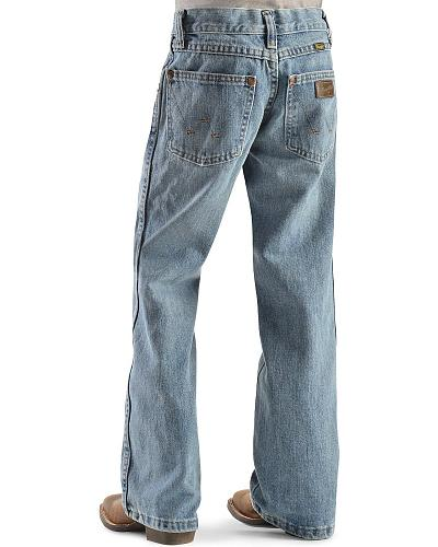 Wrangler Boys Retro Ocean Wash Jeans 4-7 Western & Country JRT20OW
