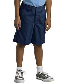 Dickies Boys' Flex Waist Flat Front Shorts - 8-14