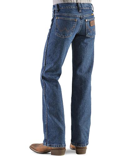Wrangler Jeans Advanced Comfort Fit 8-16 Western & Country 47BACMS  SLIM